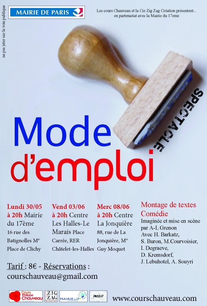 MODE D EMPLOI HD